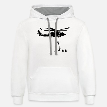 Air Force Special Operations special forces - Unisex Two-Tone Hoodie