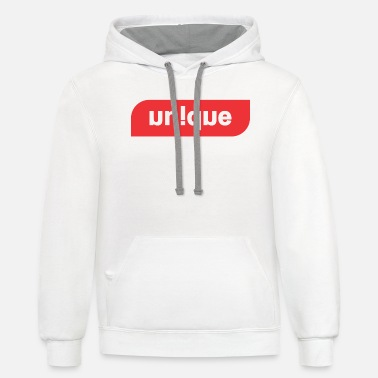 unique tees for all - Unisex Two-Tone Hoodie