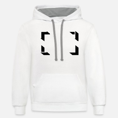 Frame Frame - Unisex Two-Tone Hoodie
