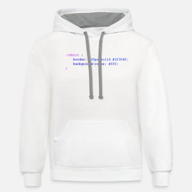 Css CSS - Unisex Two-Tone Hoodie