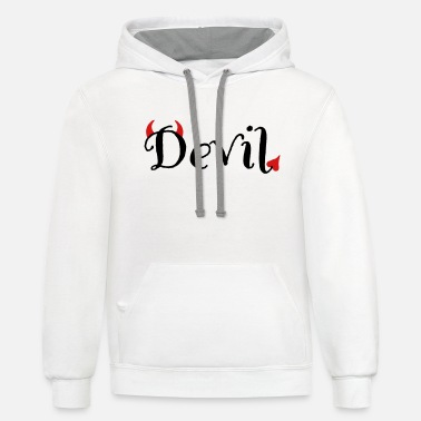 Devil Male devil - Unisex Two-Tone Hoodie