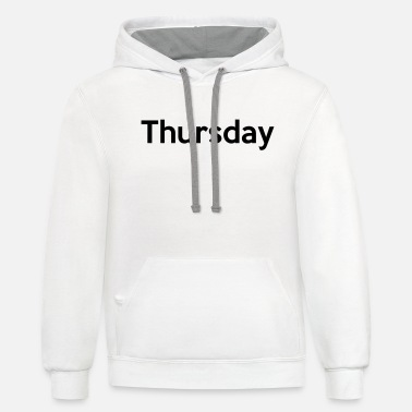 Thursday Thursday - Unisex Two-Tone Hoodie