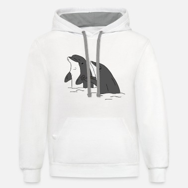 How Dare You! - Unisex Two-Tone Hoodie