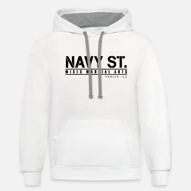 St navy st 2 - Unisex Two-Tone Hoodie