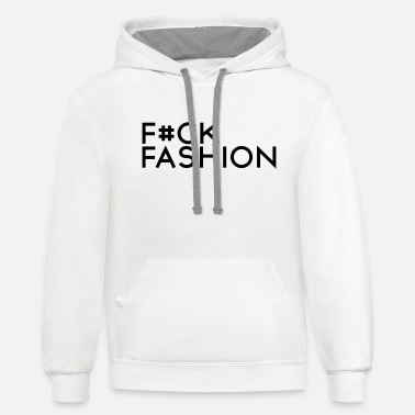 Week F#ck fashion - Unisex Two-Tone Hoodie