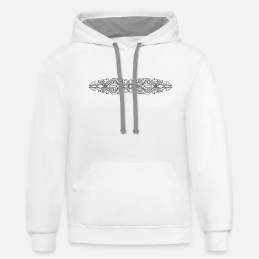 Ornament Victorian Ornament - Unisex Two-Tone Hoodie