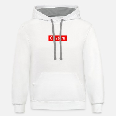 Customized Custom supreme - Unisex Two-Tone Hoodie