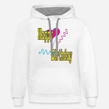 B Day B-day - Unisex Two-Tone Hoodie