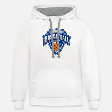 Basketball Logo High Quality - Unisex Two-Tone Hoodie