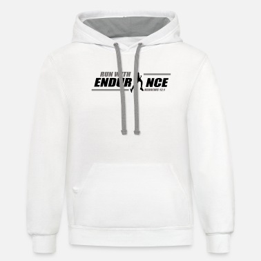 Endurance Run with Endurance - Unisex Two-Tone Hoodie