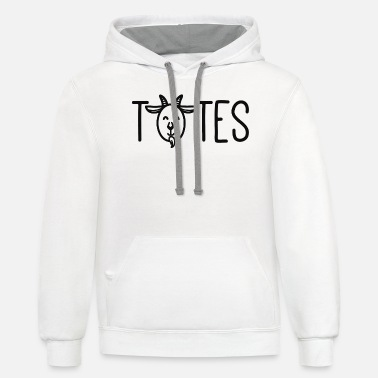 Tote Totes Magoats - Unisex Two-Tone Hoodie