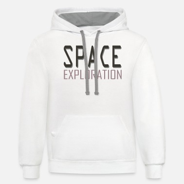 Space Exploration Space exploration - Unisex Two-Tone Hoodie