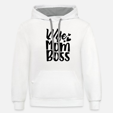Mothers Mothers Day - Unisex Two-Tone Hoodie