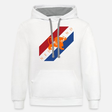 Netherlands Netherlands - Unisex Two-Tone Hoodie