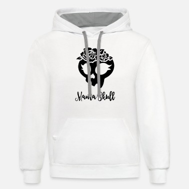 Clare Nuñez Trollhunters - Mama Skull - Unisex Two-Tone Hoodie