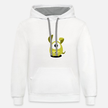 LITTLE MONSTER - Unisex Two-Tone Hoodie
