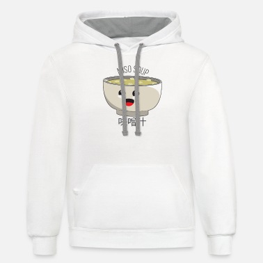Miso Soup - Unisex Two-Tone Hoodie