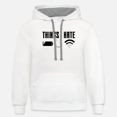 Console Things I Hate - Unisex Two-Tone Hoodie