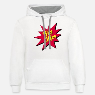 Offer Big Offer / Offer / Chance - Unisex Two-Tone Hoodie