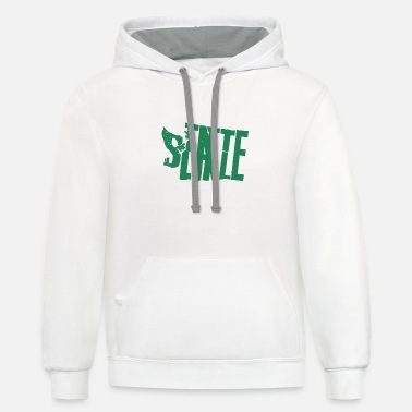 things to do in seattle - Unisex Two-Tone Hoodie