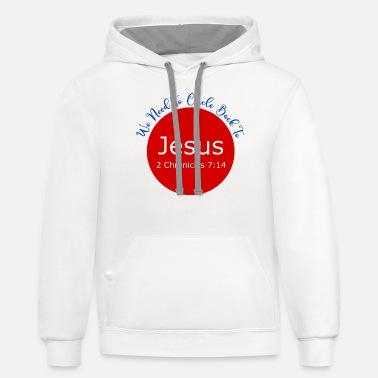 Cicle Back To Jesus - Unisex Two-Tone Hoodie