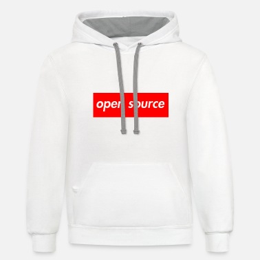 Source open source very original - Unisex Two-Tone Hoodie