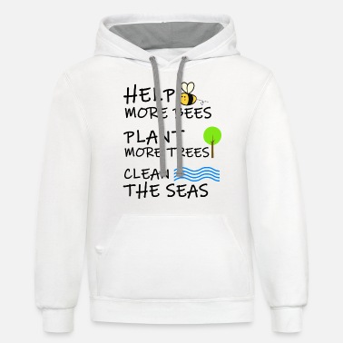 Ecology Climate Change Shirt Environmental Ecology Gift - Unisex Two-Tone Hoodie