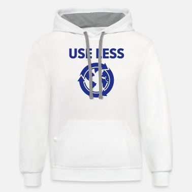 Arrested Development Tobias Tobias Funke Use Less (Useless) - Unisex Two-Tone Hoodie