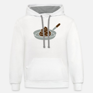 Disgusting disgusting shit crotch disgusting cook barbecue fo - Unisex Two-Tone Hoodie