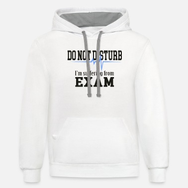 Suffer suffering exam - Unisex Two-Tone Hoodie