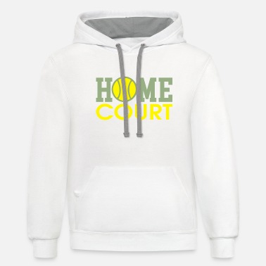 Court home court - Unisex Two-Tone Hoodie