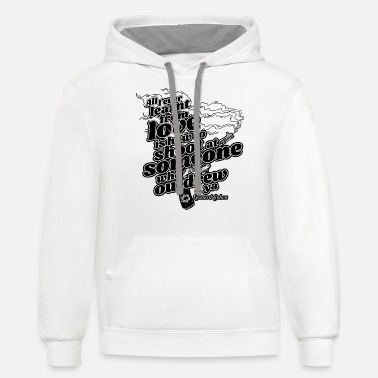 Jeff Buckley All i ever learned from love is how to shoot Cohen - Unisex Two-Tone Hoodie
