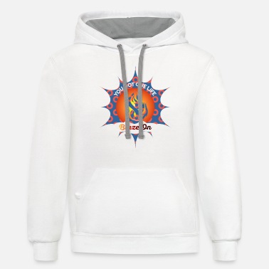 Phish Lyrics Phish Fishman Donut Blaze On Phish Apparel - Unisex Two-Tone Hoodie
