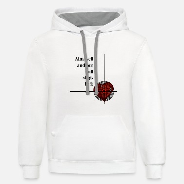 Invitation to love - Unisex Two-Tone Hoodie