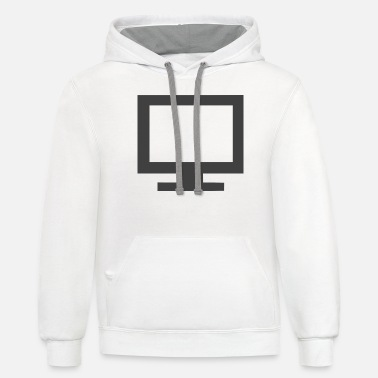 Television television - Unisex Two-Tone Hoodie