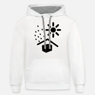 Weather weathered - Unisex Two-Tone Hoodie