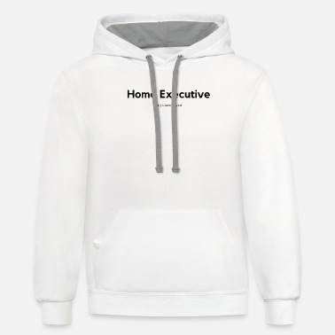 Home Executive Definition (Black) - Unisex Two-Tone Hoodie