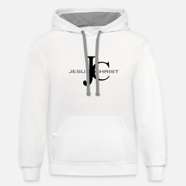 Bible Jesus Christ, Christian Bible verse Quote - Unisex Two-Tone Hoodie