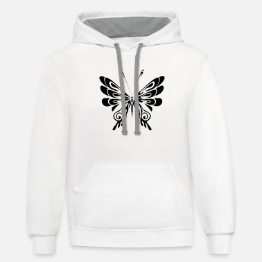 Tribal Tattoo Tribal Shirt Tattoo - Unisex Two-Tone Hoodie