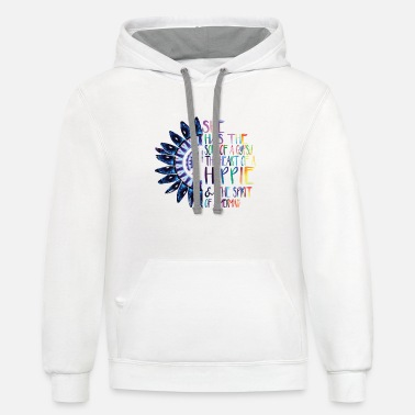 Gypsy She Has The Soul Of Gypsy Heart Of Hippie Spirit - Unisex Two-Tone Hoodie