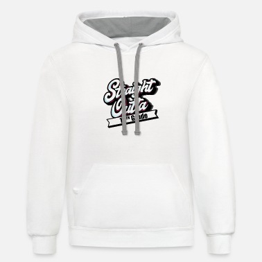 Straight Outta 10th Grade - Class Of 2019 Gift - Unisex Two-Tone Hoodie