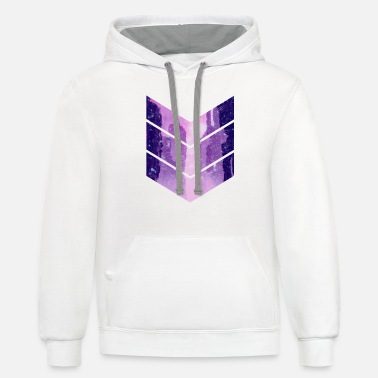 Untitled 3 - Unisex Two-Tone Hoodie