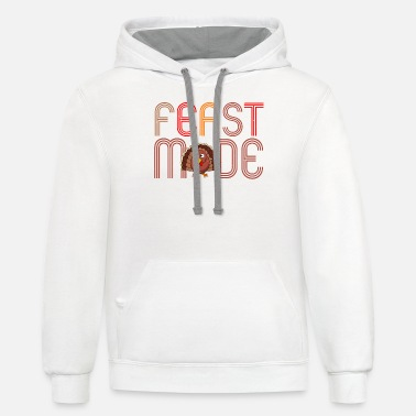 Feast Day Feast Mode - Unisex Two-Tone Hoodie