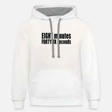 Chaos 8 MINUTES 46 SECONDS - Unisex Two-Tone Hoodie