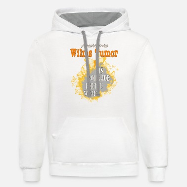Wilms Tumor Awareness Wilms Tumor Awareness - Unisex Two-Tone Hoodie
