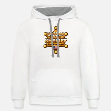 Sheriff California Deputy Sheriff - Unisex Two-Tone Hoodie