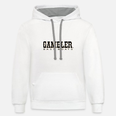 Boats Gambler Bass Boats Long Sleeve Microfiber Performa - Unisex Two-Tone Hoodie