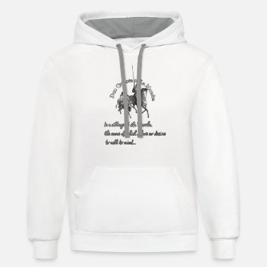Quijote Don quijote Gustave Doré - Unisex Two-Tone Hoodie