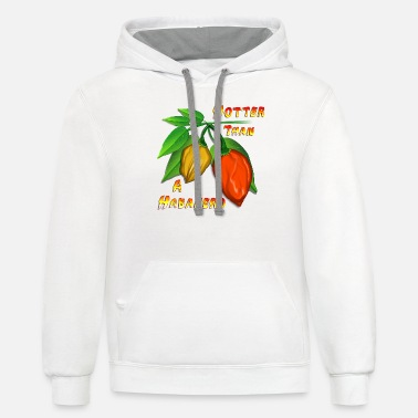 Chili Pepper Hotter Than a Habanero - Unisex Two-Tone Hoodie