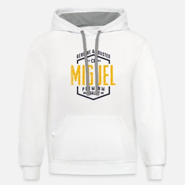 Miguel Personalized Name MIGUEL - Unisex Two-Tone Hoodie